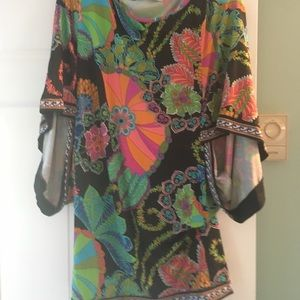 Pattered Trina Turk cover up